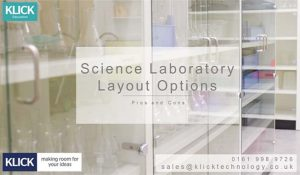 School Science Laboratory Design - Layout Options Pros & Cons