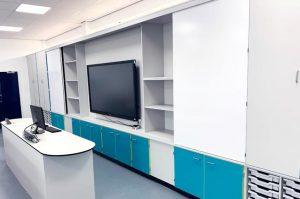 Teaching Wall Installation at West Kirby School