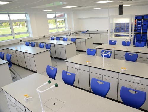 Laboratory Layout - Hampton School Chemistry Lab Design