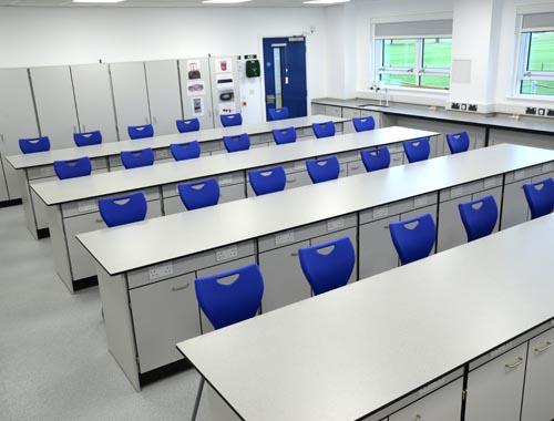 Physics Lab Design - Hampton School