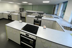 School Refurbishment - Completed Food Technology Classroom