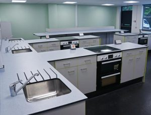 Special Needs Food Tech Room Dedicated Workspace
