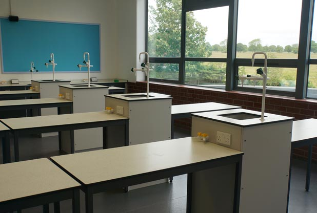 School Laboratory Furniture - Beverley Grammar School