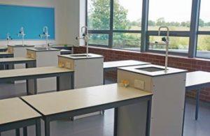 School Science Lab Furniture Installation for Beverley Grammar School