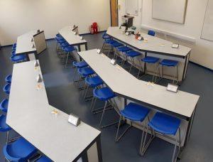 Science Laboratory refurbishment at Leasowes School