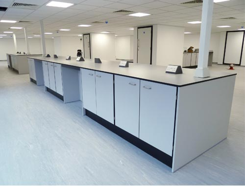 Lab Furniture for Science Park