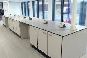 Laboratory workbenches for science park