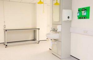 Lab furniture & IPS unit