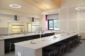 Laboratory Furniture at Charterhouse School