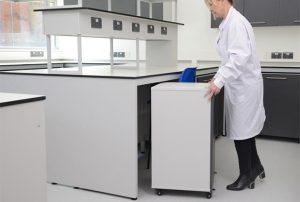 Mobile laboratory benches