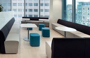 Furniture design suitable for laboratory reception areas