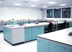 Laboratory design and construction for Hologic