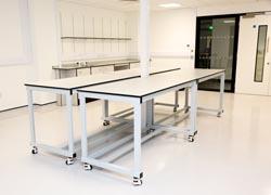 Laboratory furniture design for research lab