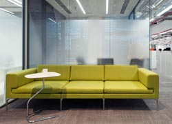 Reception area design for laboratory offices