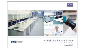 Klick Lab Brochure
