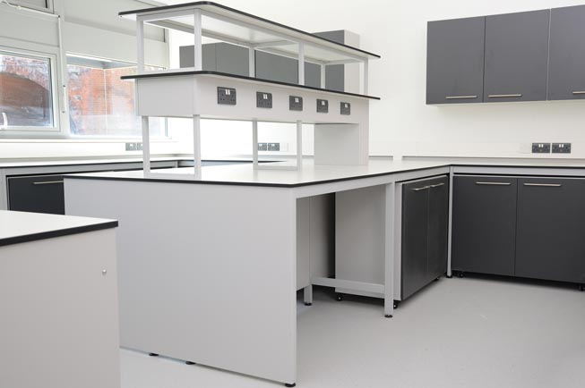 Lab furniture UK - University of Kent