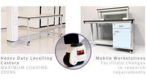 Mobile Laboratory Furniture 1