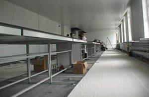 Refurbishment of laboratory for Greenwich University