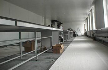 Refurbishment of laboratory for Greenwich University
