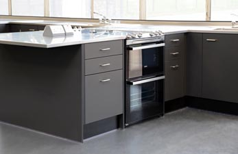 Stainless Steel Food Technology Room Furniture - Klick Technology