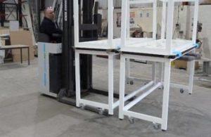 Laboratory Tables with Castors - Klick Laboratories