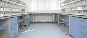 kent-university-laboratory-furniture-with-mobile-storage-units-and-blue-stools-by-klick-laboratories