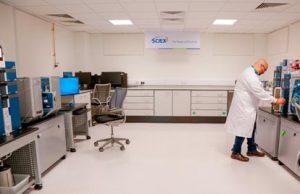 Laboratory Furniture Installation for Sciex