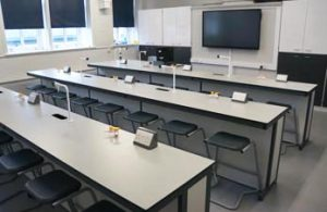 Science Laboratory Furniture at Bacup & Rawtenstall School