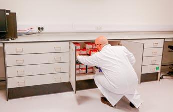 Laboratory Storage - Klick Laboratories