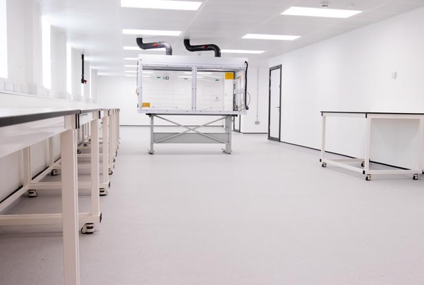 Laboratory fit out for Sygnature Discovery