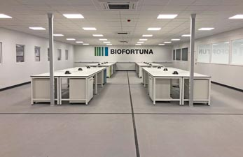 Laboratory fit out for research lab